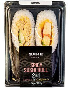 SAKESUSHI SPICY SUSHI ROLL 2KPL/275G