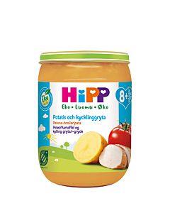 HIPP LUOMU PERUNA-BROILERIPATA 190G 8KK