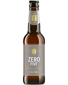 THORNBRIDGE ZERO FIVE PALE ALE 0,5% 0,33L