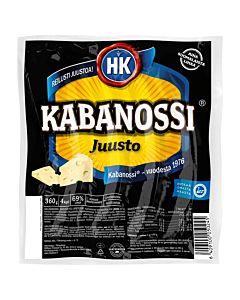 HK KABANOSSI JUUSTO 360G GLUTEENITON