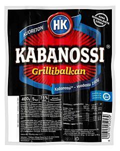 HK KABANOSSI GRILLIBALKAN 400G GLUTEENITON