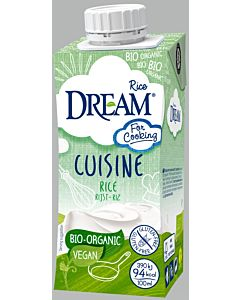 DREAM CUISINE LUOMU RIISIKERMA 200ML
