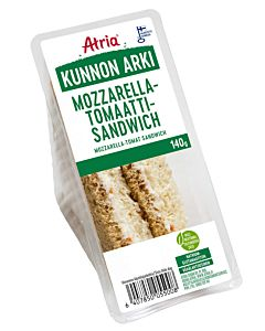 ATRIA KUNNON ARKI MOZZARELLA-TOMAATTI SANDWICH 140G