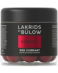 LAKRIDS BY BÜLOW BERRIES RED CURRANT 125G GLUTEENITON