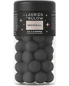 LAKRIDS BY BÜLOW SNOWBALL SALT&PEPPER 295G GLUTEENITON