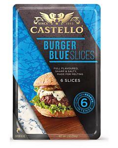 CASTELLO BURGER BLUE 150G LAKTOOSITON