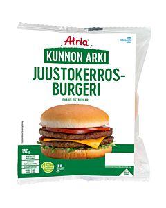 ATRIA KUNNON ARKI JUUSTOKERROSBURGERI 180G