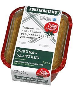 KOKKIKARTANO JOULUPERUNALAATIKKO 650G GLUTEENITON LAKTOOSITON