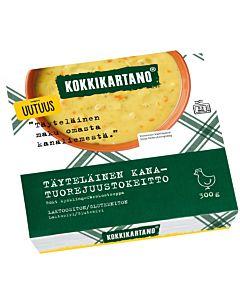 KOKKIKARTANO TÄYTELÄINEN KANA-TUOREJUUSTOKEITTO 300G