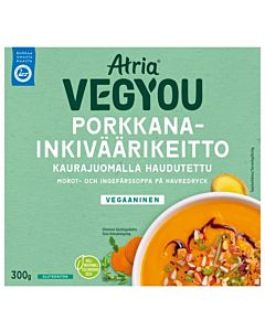 ATRIA VEGYOU PORKKANA-INKIVÄÄRIKEITTO 300G