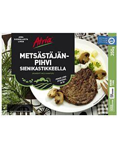 ATRIA METSÄSTÄJÄNPIHVI SIENIKASTIKKEELLA 350G