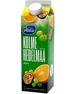 VALIO KOLMEN HEDELMÄN MEHU 1L