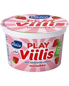 VALIO PLAY VIILIS MANSIKKA 200G LAKTOOSITON