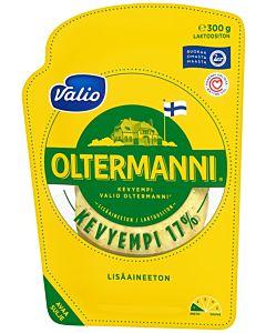 VALIO OLTERMANNI KERMAJUUSTOVIIPALE 17% 300G LAKTOOSITON