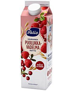 VALIO KAURAINEN PUOLUKKA-VADELMAKEITTO 1KG