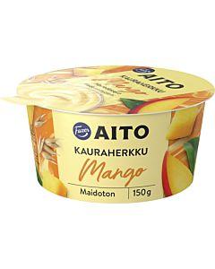 FAZER AITO KAURAHERKKU MANGO 150G LAKTOOSITON