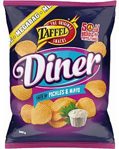 TAFFEL DINER PICKLES & MAYO 325G