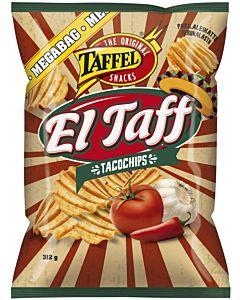 TAFFEL EL TAFF TACOCHIPS 312G
