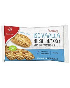 SAARIOINEN ISO VAALEA RIISIPIIRAKKA 9KPL 630G