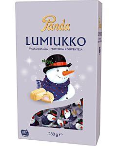 PANDA LUMIUKKO SUKLAAKONVEHTI 280G