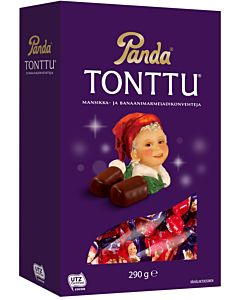 PANDA TONTTU SUKLAAMARMELADI KONVEHTI 290G