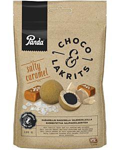 PANDA CHOCO & LAKRITS SALTY CARAMEL 120G