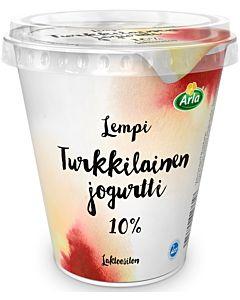 ARLA LEMPI TURKKILAINEN JOGURTTI 10% 300G LAKTOOSITON
