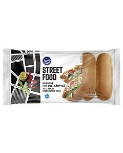 FAZER STREET FOOD BRIOSSI HOT DOG-SÄMPYLÄ 4KPL/200G