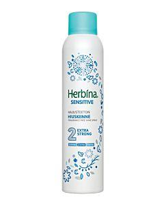HERBINA 250ML HIUSKIINNE SENSITIVE EXTRA STRONG HAJUSTEETON