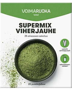 VOIMARUOKA TOTAL SUPERMIX JAUHE 20X6G