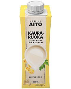 KASLINK AITO KAURARUOKA JUUSTO 250ML GLUTEENITON