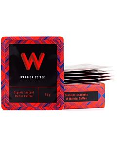 WARRIOR COFFEE LUOMU ORIGINAL INSTANT VOIKAHVI 6X15G