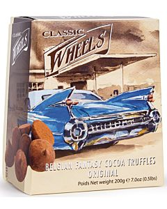 THE BELGIAN CHOCOLATE WHEELS SUKLAATRYFFELI ORIGINAL 200G