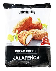 PAKASTE CATER QUALITY CREAM CHEESE JALOPENOS 1KG