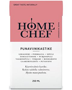 HOME CHEF PUNAVIINIKASTIKE 250ML