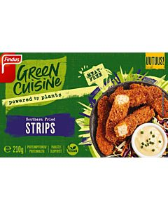 GREEN CUISINE SOUTHERN FRIED STRIPS 210G