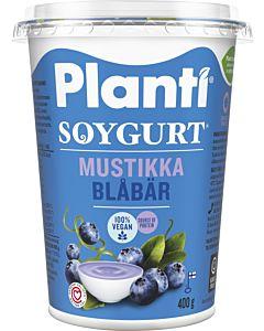 PLANTI SOYGURT MUSTIKKA 400G