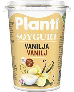 PLANTI SOYGURT VANILJA 400G