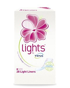 LIGHTS BY TENA PIKKUHOUSUNSUOJA LIGHT LINER 28KPL