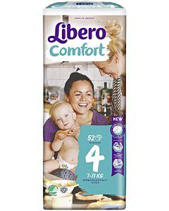 LIBERO COMFORT TEIPPIVAIPPA KOKO 4 (7-11 KG) 52KPL