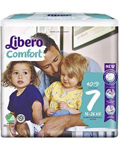 LIBERO COMFORT TEIPPIVAIPPA KOKO 7 (16-26 KG) 40KPL