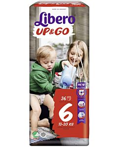 LIBERO UP&GO HOUSUVAIPPA KOKO 6 (13-20 KG) 36KPL