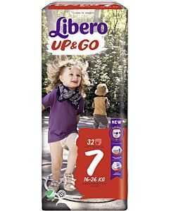 LIBERO UP&GO HOUSUVAIPPA KOKO 7 (16-26 KG) 32KPL