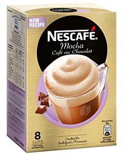 NESCAFE MOCHA CAFE AU CHOCOLAT PIKAKAHVI ANNOSPUSSI 8KPL 144G