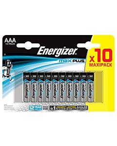 ENERGIZER MAX PLUS AAA PARISTO 10KPL MAXIPACK