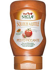 SACLA 270G CHILI & TOMATTI PESTO SQUEEZY