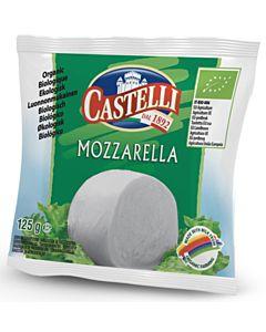 CASTELLI LUOMU MOZZARELLA 125G
