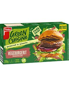 GREEN CUISINE VEGEBURGERIT 200G