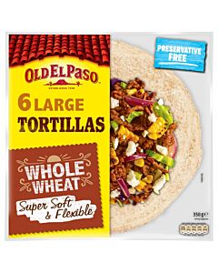 OLD EL PASO TÄYSJYVÄVEHNÄ TORTILLA MEDIUM 8/326G