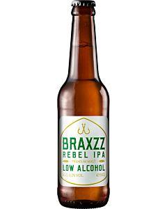 BRAXZZ REBEL IPA ALKOHOLITON OLUT 0,2% 0,33L